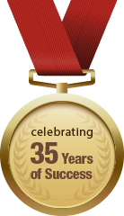35 Years of Success Medal